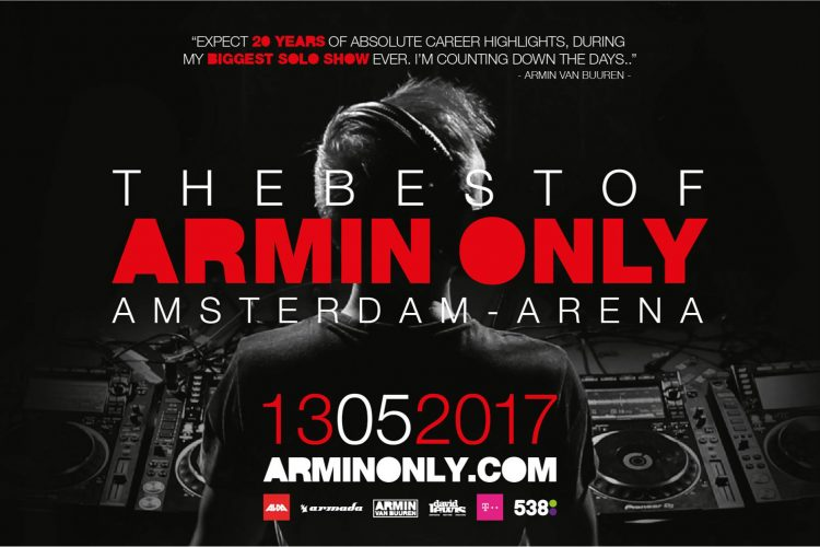 Armin van Buuren Announces His BIG News